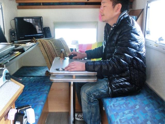 軽トラキャンピングカー 内装6